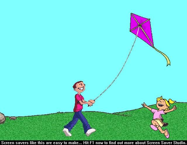 Still others just like to fly a kite. Have you ever tried to fly a kite?next